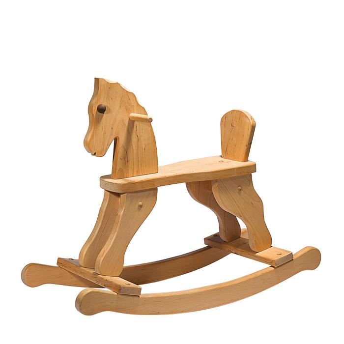 Schaukelpferd Holz Mit Lehne ~   Schaukeln Rutschen Fahren » Schaukelpferde » Schaukelpferd mit Lehne
