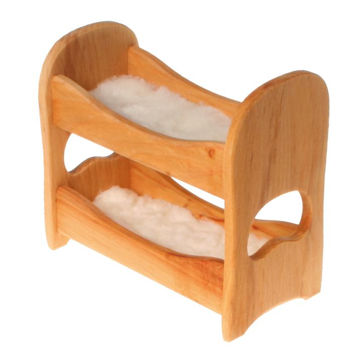 goldrabe etagenbett doppelstockbett natur von grimms spiel und holz design. Black Bedroom Furniture Sets. Home Design Ideas