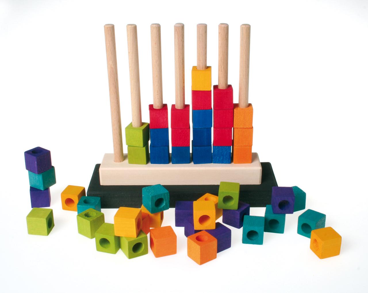 Kletterbogen Goldrabe : Goldrabe steckspiel farbenreihe von grimms spiel und holz design
