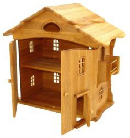 goldrabe puppenhaus aus erlenholzvon drewart. Black Bedroom Furniture Sets. Home Design Ideas