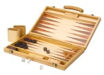 Backgammon in Holzkoffer